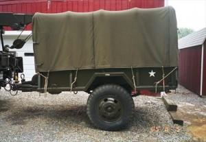 two wheeled trailer vibration testing