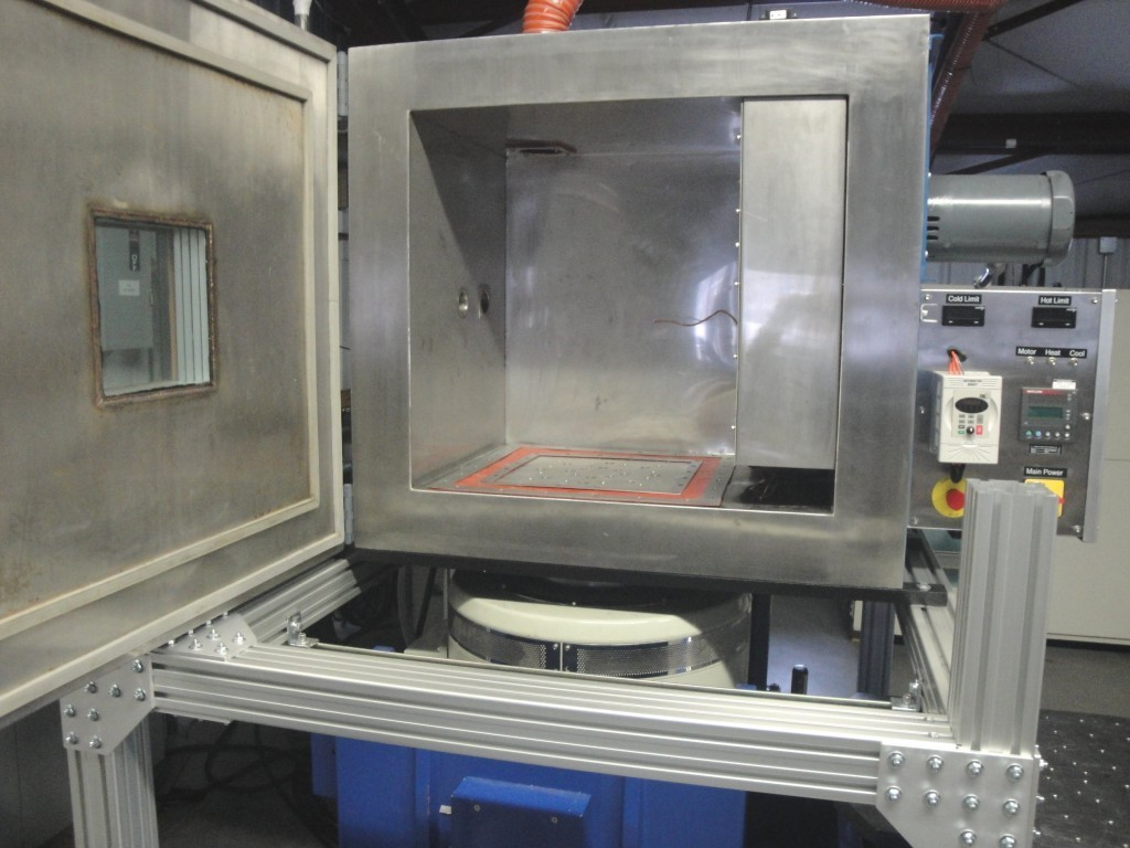 Extreme Combined Temperature & Vibration Testing