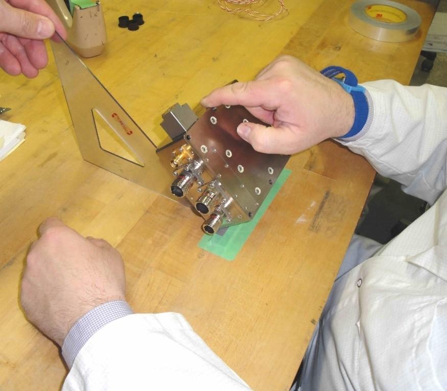 shock testing bench handling